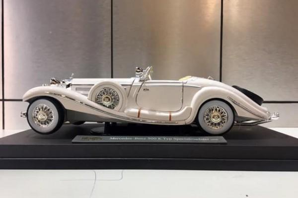 1936 Mercedes-Benz 500 K Typ Specialroadster 1:18 Maisto