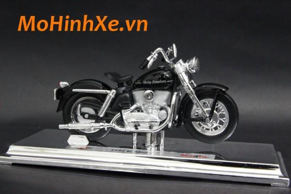 1952 Harley-Davidson K Model 1:18 Maisto