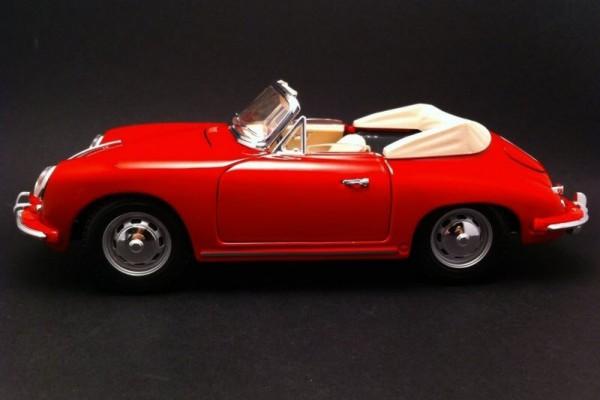 1961 Porsche 356B Cabriolet 1:18 Bburago