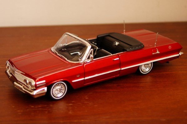 1963 Chevrolet Impala 1:24 Welly
