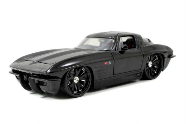 1963 Chevy Corvette Sting Ray Coupe 1:24 Jada