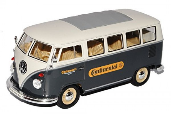 1963 Volkswagen Bus T1 Continental 1:24 Welly