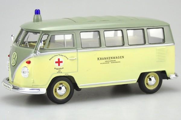 1963 Volkswagen Bus T1 Cứu Thương 1:24 Welly