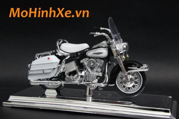 1966 Harley-Davidson FLH Electra Glide 1:18 Maisto