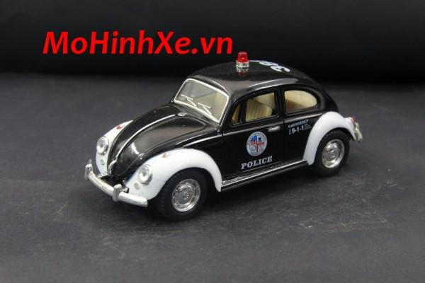 1967 Volkswagen Classical Beetle Police 1:36 Kinsmart
