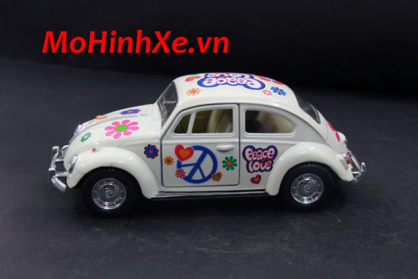 1967 Volkswagen Classical Beetle w/ printing 1:36 Kinsmart