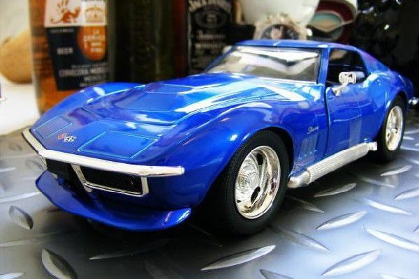 1969 Corvette StingRay ZL-1 1:24 Jada