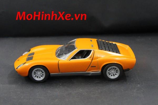 1971 Lamborghini Miura P400 SV 1:36 Kinsmart