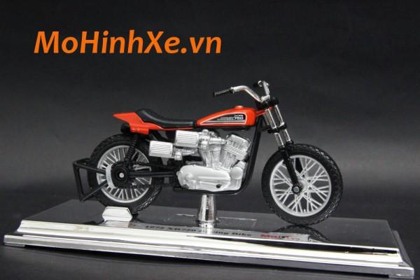1972 Harley-Davidson XR750 Racing Bike 1:18 Maisto