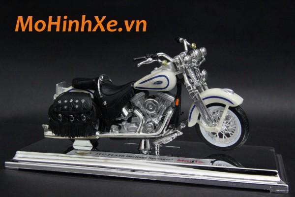 1997 Harley-Davidson FLSTS Heritage Springer 1:18 Maisto