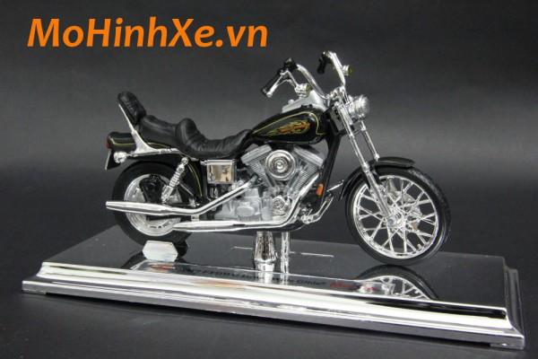 1997 Harley-Davidson FXDWG Dyna Wide Glide 1:18 Maisto