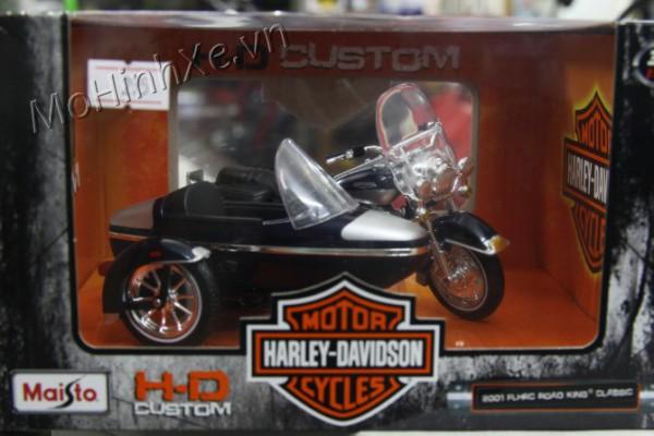 2001 Harley-Davidson FLHRC Road King Clasic 1:18 Maisto