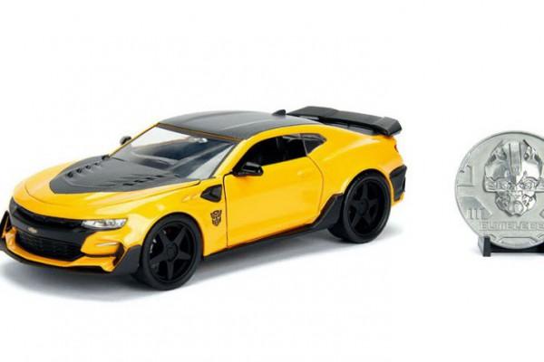 2016 Chevy Camaro-Bumblebee 1:24 Jada