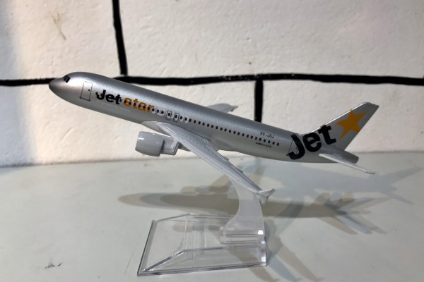 Airbus A320 JetStar 1:400 Aircraft Model