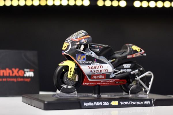 Aprilia RSW 250 No.46 World Champion 1999 1:18 LEO