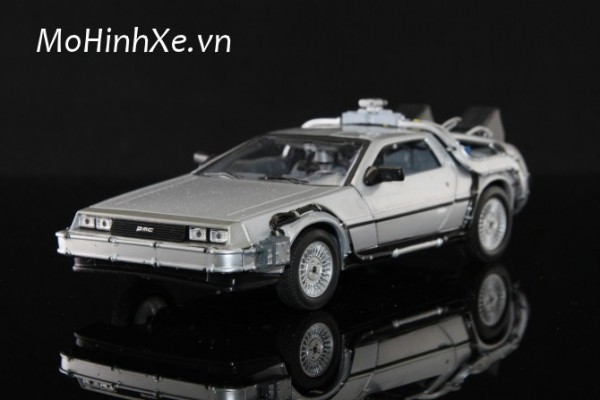 DeLorean Time Machine Back To The Future Phần 1 1:24 Welly