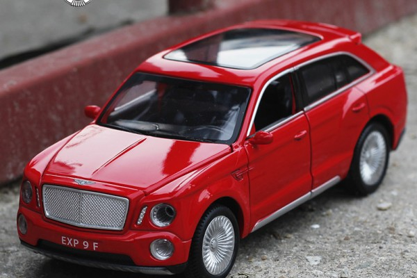 Bentley EXP 9F 1:32 Double Horses