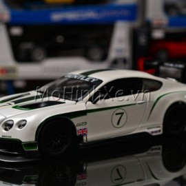 Bentley Continental GT3 No.7 1:24 Bburago