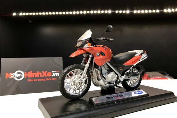 BMW F650 GS 1:18 Welly