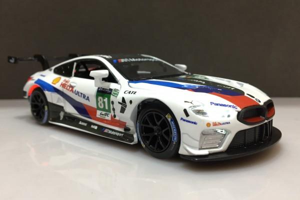 BMW M8 GTE Le Mans No.81 1:32 Uni-Fortune
