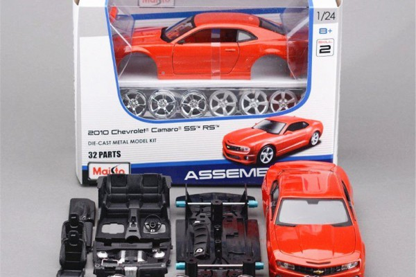 Bộ KIT Lắp ghép Chevrolet Camaro SS RS 2010 1:24 Maisto