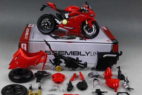 Bộ KIT Lắp ghép Ducati 1199 Panigale 1:12 Maisto