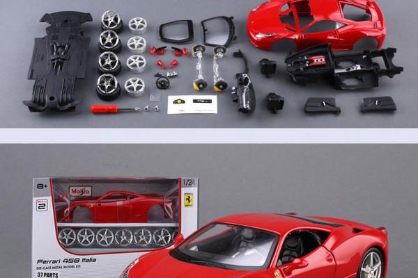 Bộ KIT Lắp ghép Ferrari 458 Italia 1:24 Maisto