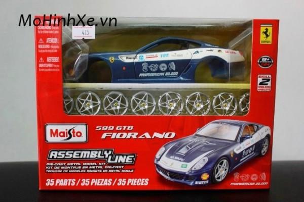 Bộ KIT Lắp ghép Ferrari 599 GTB Fiorano 1:24 Maisto