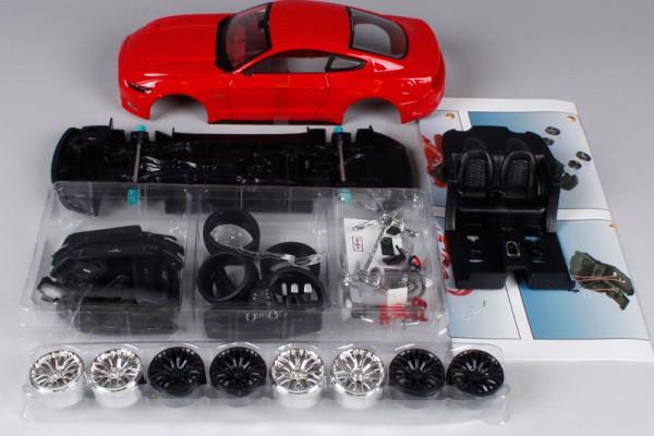 Bộ KIT Lắp ghép Ford Mustang GT 2015 1:24 Maisto