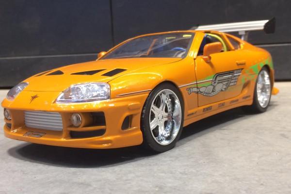 Brian's Toyota Supra 1:18 Jada