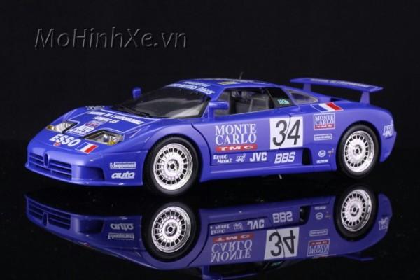 Bugatti EB110 Super Sport (1994 Race) 1:18 Bburago