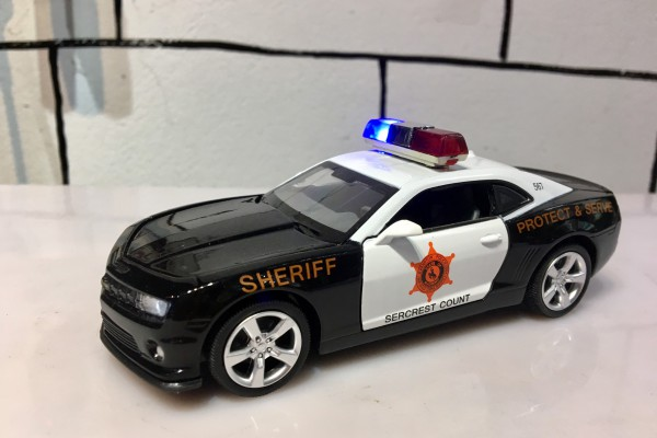 Chevrolet Camaro SS Police 1:32 MSZ