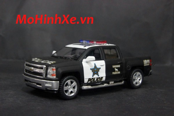Chevrolet Silverado Police 1:36 Kinsmart