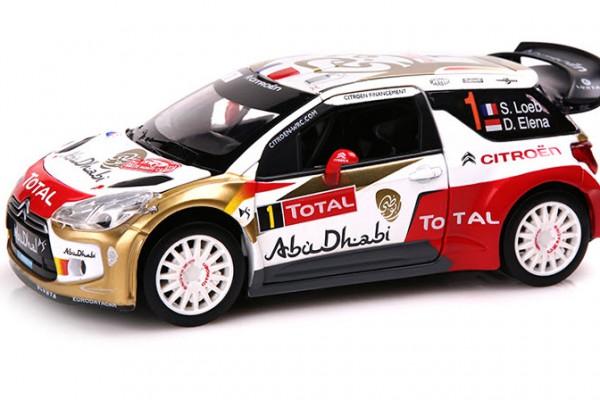 Citroen DS3 WRC Abu Dhabi 1:32 Double Horses