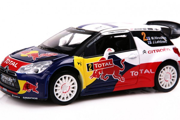 Citroen DS3 WRC Red Bull 1:32 Double Horses
