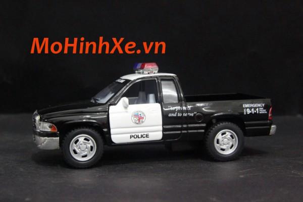 Dodge Ram 1500 V8 Police 1:36 Kinsmart