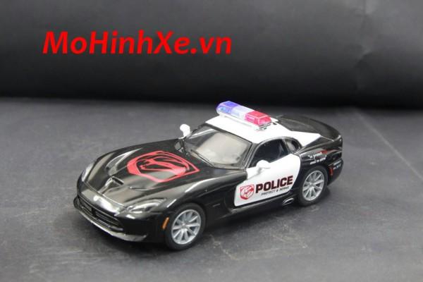 Dodge SRT Viper GTS 2013 Police 1:36 Kinsmart
