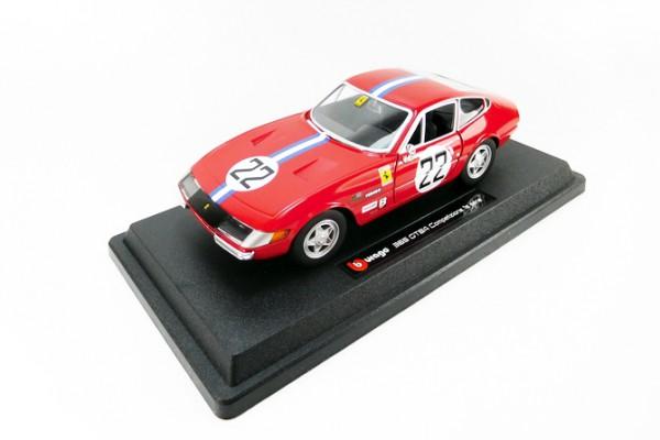 Ferrari 365 GTB4 Competizione 1a serie 1:24 Bburago