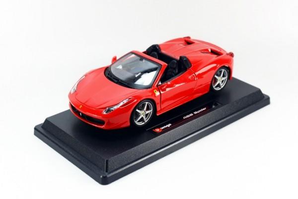 Ferrari 458 Spider 1:24 Bburago