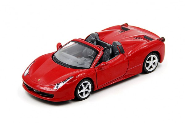Ferrari 458 Spider 1:32 Alloy Metal