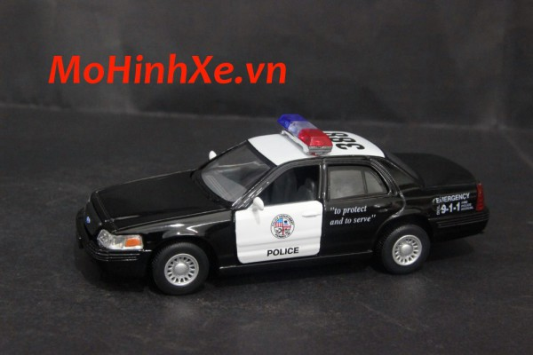 Ford Crown Victoria Police Interceptor 1:36 Kinsmart