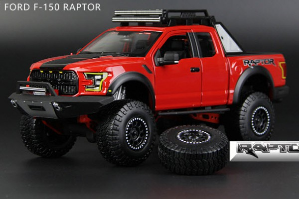 Ford F-150 Raptor 2017 Off-Road 1:24 Maisto