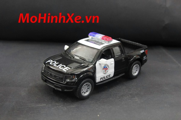 Ford F-150 SVT Raptor SuperCrew Police 1:36 Kinsmart