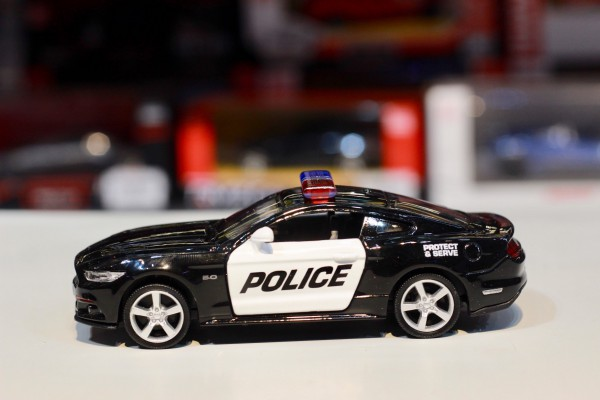 Ford Mustang GT 2015 Police 1:36 RMZ City