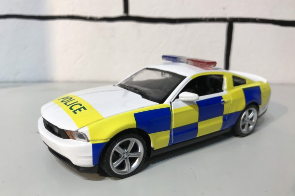 Ford Mustang GT Police 1:32 MSZ
