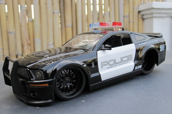 Ford Shelby GT-500 Police 1:24 Jada