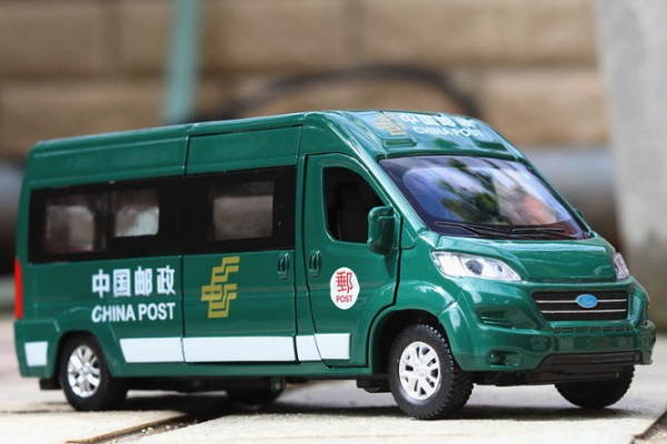 Ford Tourneo MPV China Post 1:32 Double Horses