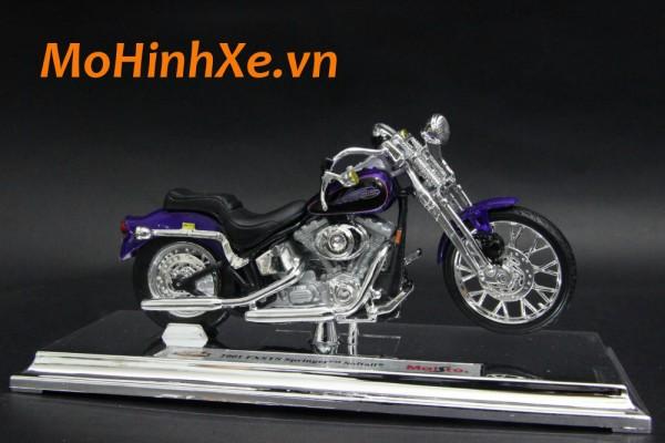 Harley-Davidson FXSTS Springer Softail 2001 1:18 Maisto