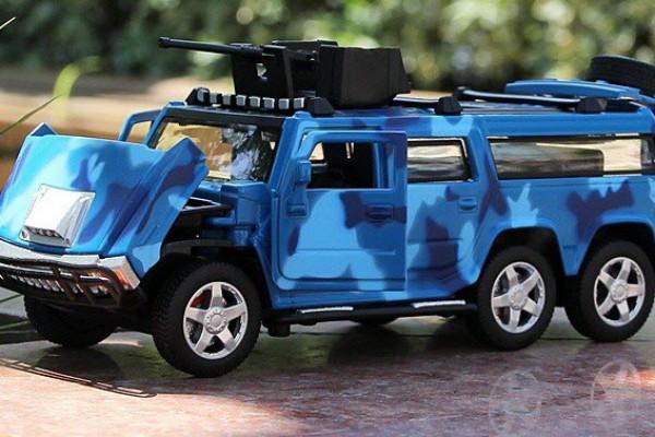 Hummer H2 6x6 1:32 Alloy Metal