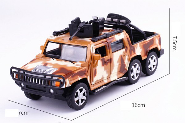 Hummer H2 6x6 Pick-Up 1:32 Alloy Metal